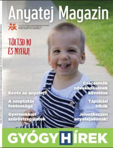 Anyatej magazin boritó 2020