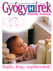 Gyógyhírek Anyatej magazin 1998
