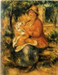 Auguste Renoir: Aline Renoir Pierrel  1915  Bern
