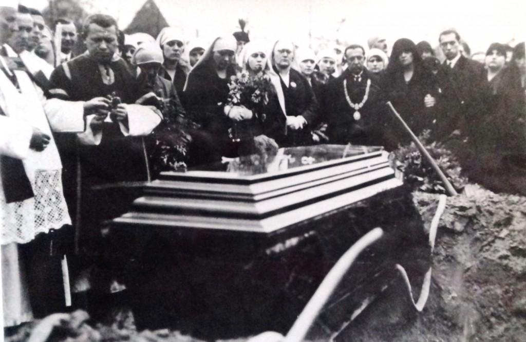 Prof. Dr. Heim Pál temetése 1929. október 25.