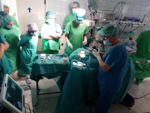 Navigációs műtét a Heim Pál Gyermekkórház Fül-orr-gégészeti osztályán