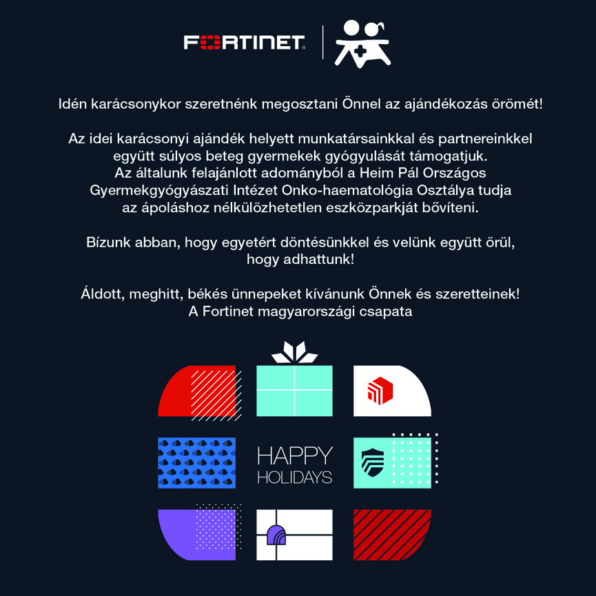 Fortinet card